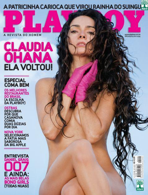 revista playboy capa Claudia Ohana novembro 2008 editora abril (1)