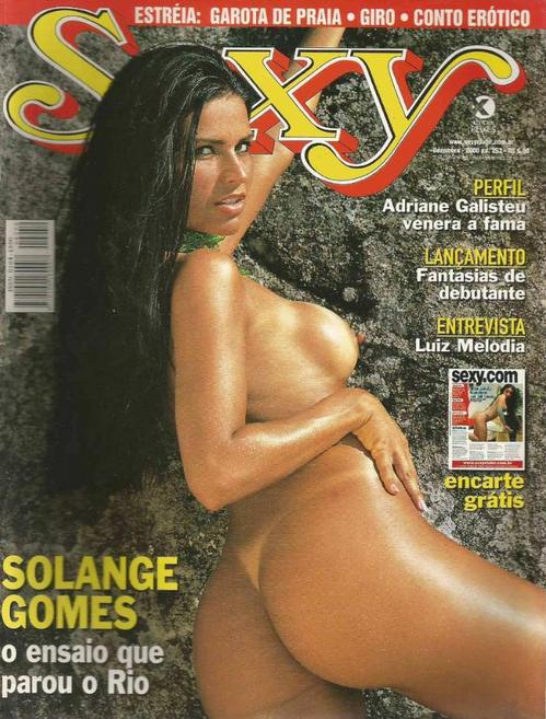 Solange Gomes sexy capa