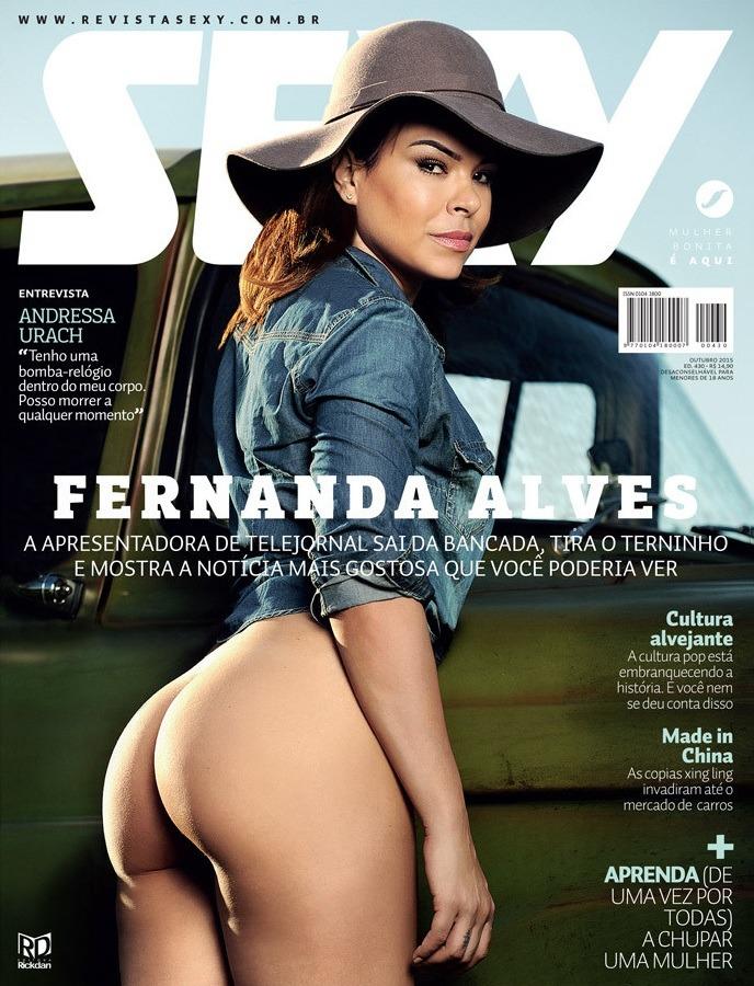 FERNANDA ALVES capa sexy