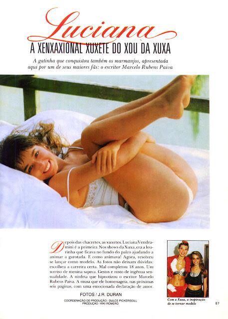 Luciana Vendramini playboy