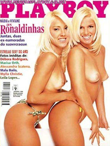 Nadia e Viviane As Ronaldinhas playboy_002